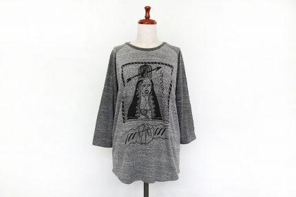 女神 ラグランTシャツ