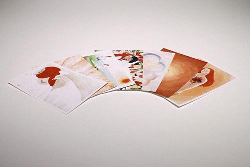 Postcard 7-set Chara