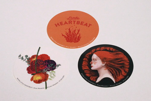 Sticker LITTLE HEARTBEAT